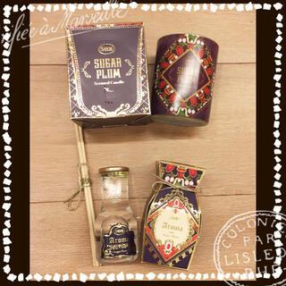 ラスト1★ SABON  シュガープラム  アロマ&キャンドル セット