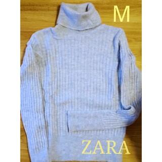 ザラ(ZARA)の値下げ‼️【ZARA】タートルネック ニット セーター Mサイズ(ニット/セーター)