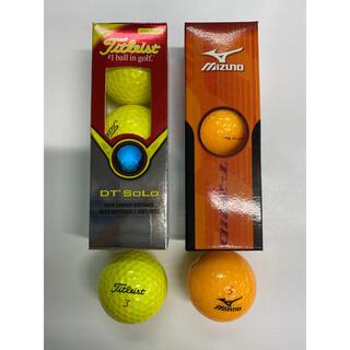 タイトリスト(Titleist)のゴルフボール Titleist DT Solo & MIZUNO T-ZOID(その他)
