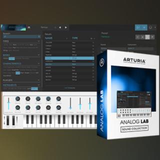 【正規品】ARTURIA ANALOG LAB LITE v2(ソフトウェア音源)