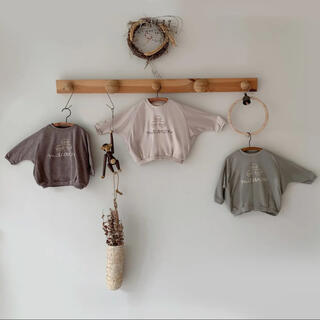 ikii マカロン T 韓国子供服(Tシャツ/カットソー)