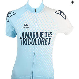 ルコックスポルティフ(le coq sportif)の新品未使用 ルコック サイクルジャージ レディースL Douce mode(ウエア)