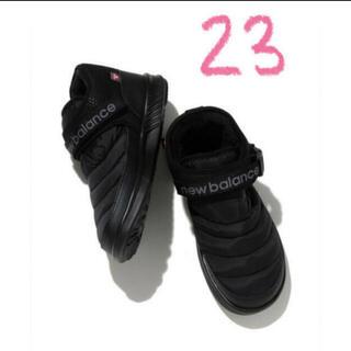 ニューバランス(New Balance)のともすけ様専用 ニューバランス モックMID B ブラック 23(ブーツ)