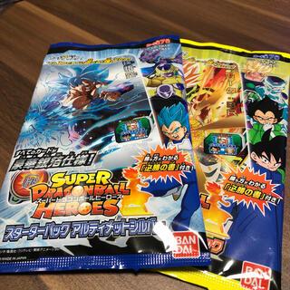 ドラゴンボール(ドラゴンボール)のスーパードラゴンボールヒーローズ【未開封】スターターパック 2セット(Box/デッキ/パック)