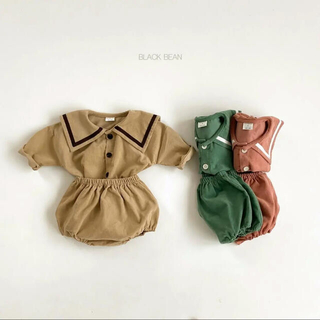 BLACKBEAN  セーラーsetup 韓国子供服(トレーナー)