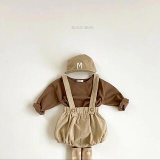 BLACKBEAN balloon サロペット 2set 韓国子供服(パンツ)