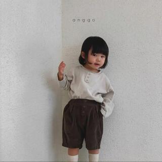 anggo ピーナッツパンツ 韓国子供服(パンツ/スパッツ)