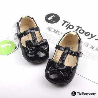 ファミリア(familiar)のTip Toey Joey 黒 ブラック 面接 蝶々 フォーマル シューズ 15(フォーマルシューズ)