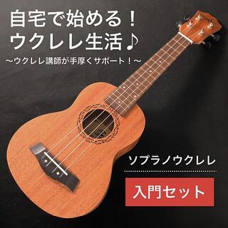 【プロ調整】ウクレレが絶対に弾けるようになる入門セット【ソプラノ】(その他)