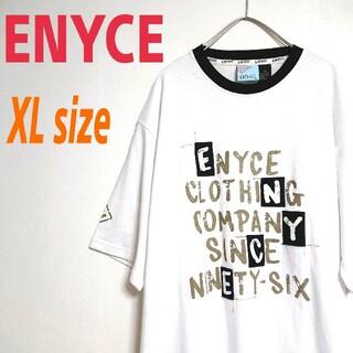 エニーチェ(ENYCE)の90s ENYCE エニーチェ ビッグサイズ Tシャツ  ロング丈 ワンピース(Tシャツ/カットソー(半袖/袖なし))