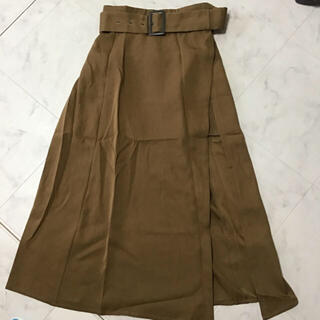 リゼクシー(RESEXXY)のリゼクシー レイヤードフレアスカート(ロングスカート)