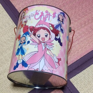 おジャ魔女どれみ バケツ缶(キャラクターグッズ)