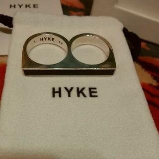 ハイク(HYKE)の【テルテル様専用】HYKE  ハイク ダブルリング(リング(指輪))