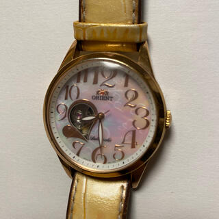 オリエント(ORIENT)のorient オリエント 腕時計 レディース ホワイトシェル文字盤(腕時計)