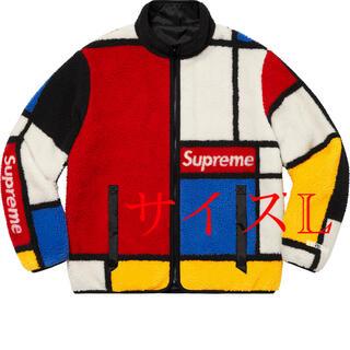シュプリーム(Supreme)のSupreme Reversible Colorblocked Fleece L(ブルゾン)
