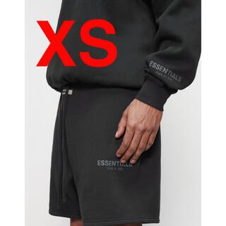 フィアオブゴッド(FEAR OF GOD)のfear of god essentials ショーツ 黒 XS ハーフパンツ (ショートパンツ)