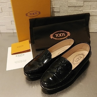TOD'S - ☆トッズ・パテントローファー35☆