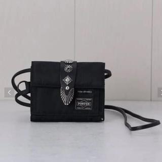 トーガ(TOGA)のトーガ×ポーターウォレット ブラック(折り財布)