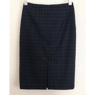 ユナイテッドアローズ(UNITED ARROWS)の《UNlTED ARROWS》チェックタイトスカート(ひざ丈スカート)