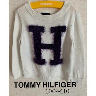 TOMMY HILFIGER - ⭐️TOMMY HILFIGERトミーヒルフィガー⭐️キッズニットトップスXS