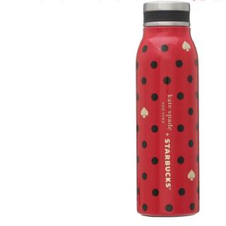 スターバックスコーヒー(Starbucks Coffee)のスターバックス ステンレスボトル Kate Spade ポルカドッツ(水筒)