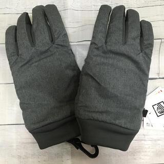 ユニクロ(UNIQLO)の【未使用】キッズ ユニクロ ヒートテックライナー ファンクショングローブ グレー(手袋)