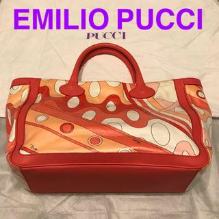 エミリオプッチ(EMILIO PUCCI)の【美品】EMILIO PUCCI エミリオプッチ トートバッグ ハンドバッグ(トートバッグ)
