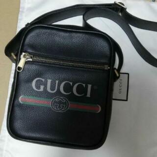 グッチ(Gucci)の極美品 グッチ メッセンジャーバッグ レザー GUCCI ショルダーバッグ(メッセンジャーバッグ)