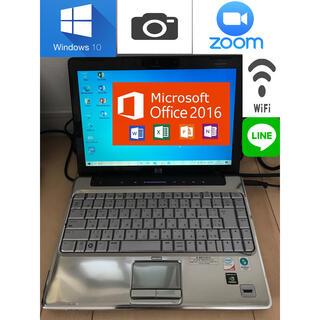 ヒューレットパッカード(HP)のHP ノートPC Windows10 Ms-Office2016 カメラ(ノートPC)