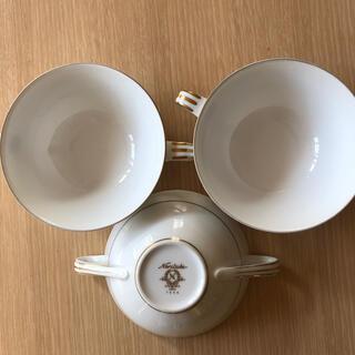 ノリタケ(Noritake)のNoritake スープカップ 3客(食器)