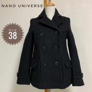 ナノユニバース(nano・universe)の✨ナノユニバース コート ハーフコート 即日発送🌟(ピーコート)