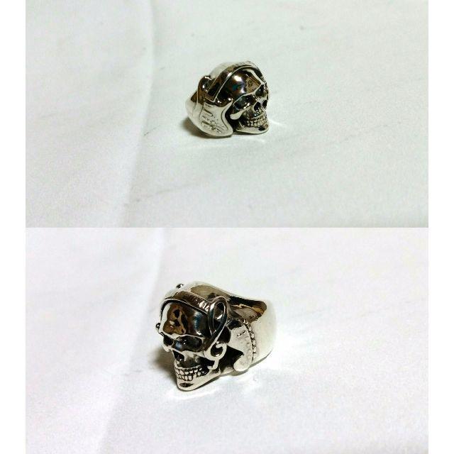 Justin Davis(ジャスティンデイビス)の正規限定 ジャスティンデイビス アーティストスカルリング SV925 4号 指輪 メンズのアクセサリー(リング(指輪))の商品写真