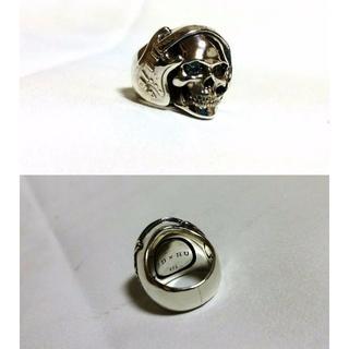 ジャスティンデイビス(Justin Davis)の正規限定 ジャスティンデイビス アーティストスカルリング SV925 4号 指輪(リング(指輪))