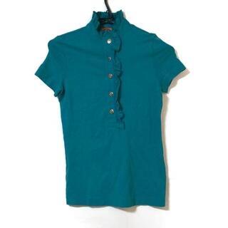 トリーバーチ(Tory Burch)のトリーバーチ 半袖ポロシャツ サイズXXS XS(ポロシャツ)
