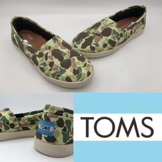 トムズ(TOMS)のTOMS トムス CLSC キャンバススニーカー スリッポン 未使用(スニーカー)
