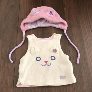 アナスイミニ(ANNA SUI mini)の専用出品 猫耳帽子 猫耳カチューム 2点セット(帽子)