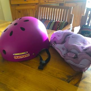 ブリヂストン(BRIDGESTONE)の子供用自転車ヘルメット&BRIDGESTONプロテクターset(ヘルメット/シールド)