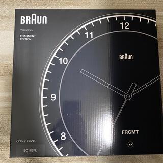 フラグメント(FRAGMENT)のBraun × Fragment  BC17BFUブラウン(置時計)