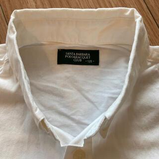 男児白シャツ 120  サンタバーバラ(ドレス/フォーマル)