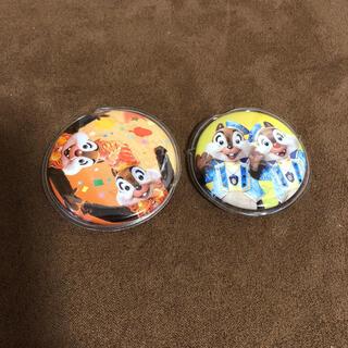 チップアンドデール(チップ&デール)のチップ&デール 周年缶バッジ(バッジ/ピンバッジ)