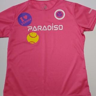 パラディーゾ(Paradiso)のParadisoレディーステニスTシャツ(ウェア)