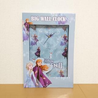 ディズニー(Disney)の新品▼ディズニー アナと雪の女王 BIGウォールクロック 掛け時計(掛時計/柱時計)