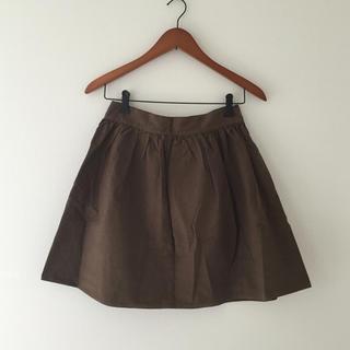 ドゥーズィエムクラス(DEUXIEME CLASSE)のドゥーズィエム♡フレアスカート✳︎カーキ(ひざ丈スカート)