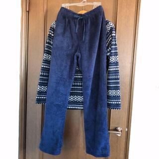 ユニクロ(UNIQLO)のユニクロ UNIQLO パジャマ パンツ もこもこ(パジャマ)