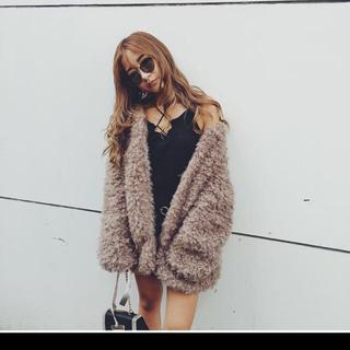 アンビー(ENVYM)のお値下げ♡ENVYM アンビー プードルファーコート(毛皮/ファーコート)