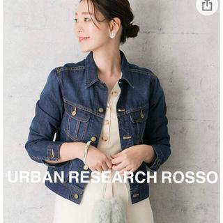 アーバンリサーチロッソ(URBAN RESEARCH ROSSO)の美品⭐︎アーバンリサーチロッソ Gジャン デニムジャケット(Gジャン/デニムジャケット)