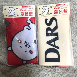 モリナガセイカ(森永製菓)のナガノ 自分ツッコミくまDARS  風呂敷 ちいかわ なんか小さくてかわいいやつ(エコバッグ)