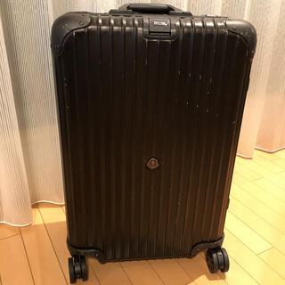 リモワ(RIMOWA)の【正規品】最安 RIMOWA×MONCLER リモワ モンクレールスーツケース(スーツケース/キャリーバッグ)