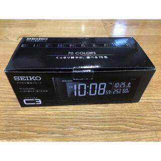 セイコー(SEIKO)のセイコー 目覚まし時計 電波 交流式 DL305K SEIKO 新品(置時計)
