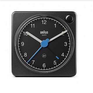 フラグメント(FRAGMENT)のBRAUN × fragment design BC02XBFU ブラック(置時計)